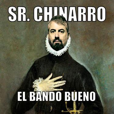 Sr. Chinarro, El lado bueno